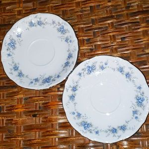 Winterling Bavaria Germany China Saucers Set of 2